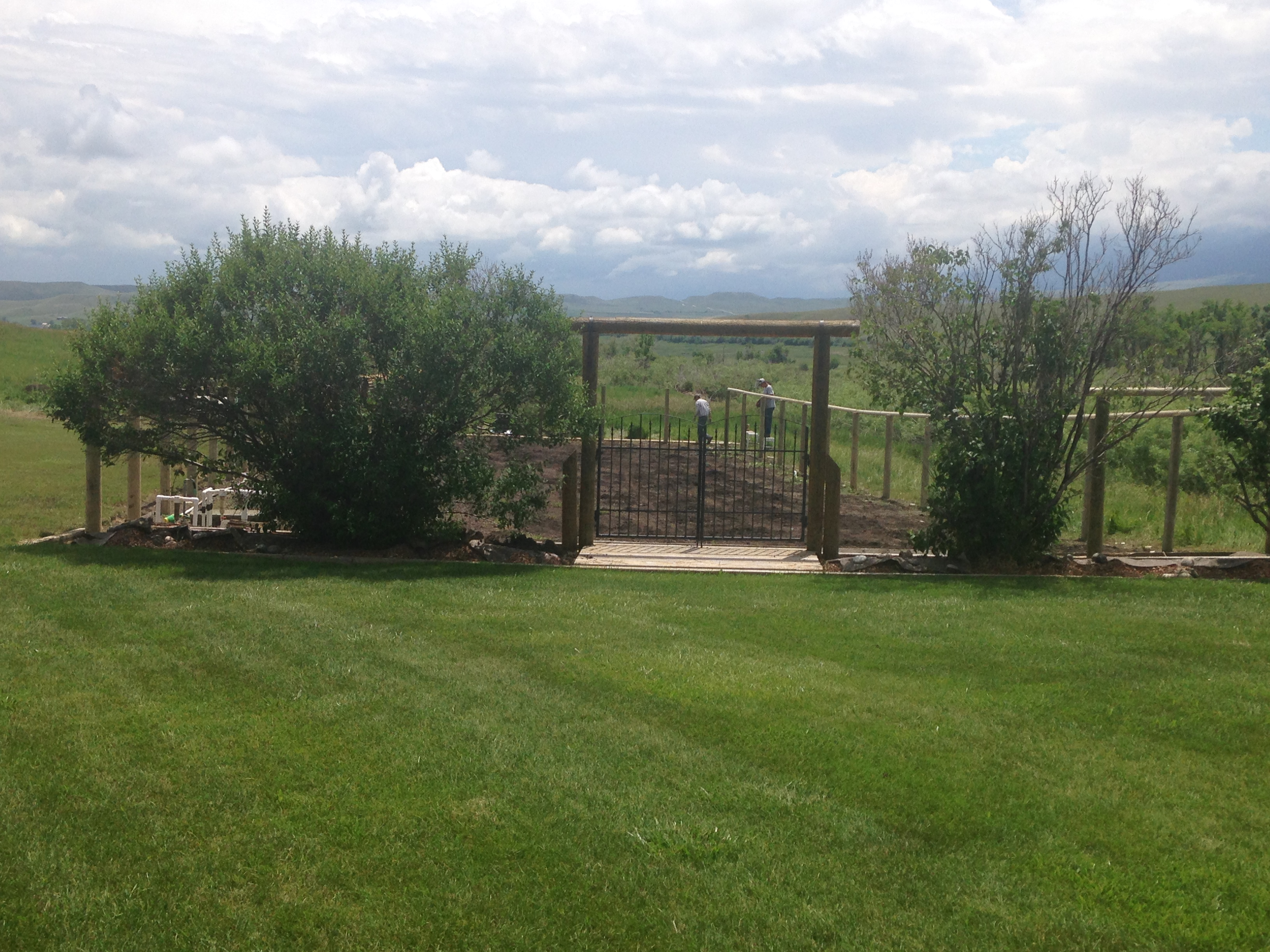 Wood Fence Project | Bockman Group
