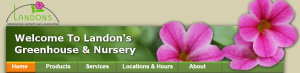 Landon's Greenhouse homepage
