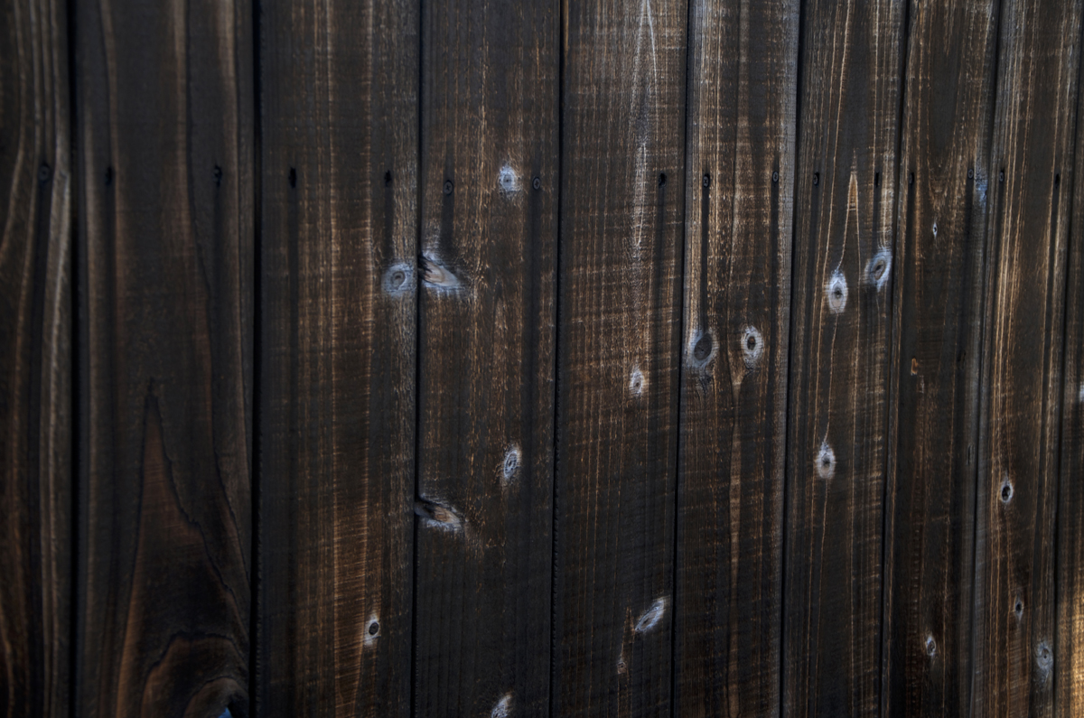 Bockman Group Installs Black Cedar Fence Bockman Group